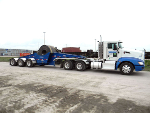 Adams Industries Coil Trailer