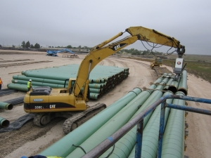 Pipe Unloading